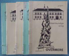 02 - 6 Nrs. Tijdschrift Heemkundige Kring Overmere - 1983-1984 - Histoire
