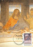 D33139 CARTE MAXIMUM CARD 2013 NETHERLANDS - LAST SUPPER LEONARDO DA VINCI THE GENIUS - ROTTERDAM 2013 PLEASE READ ! - Religious