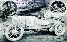 N°225 A -cpa Grand Prix ACF -Farman Sur Panhard -circuit De La Seine Maritime- - Autres