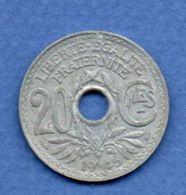 -  20 Centimes 1945  -  état  SUP - France