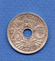 Rare -  25 Centimes 1940  -  état  TTB+ - France