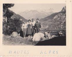 26489 Dix 10 Photo -Belgique France - Années 1960 - Hautes Alpes -telegraphe -col Galibier - Lieux