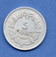 5 Francs 1950 B   -   état  TTB - France