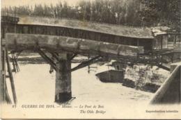 77 MEAUX - Guerre De 1914- Le Pont De Bois - LL - Meaux