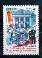 2016 N 5066 ECOLE DES MINES OBLITERE #227# - France