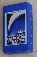 Mini-savon Publicitaire: Le Nouveau Train Bleu Vers La Côte D'Azur - Compagnie Des Wagons-lits - Autres