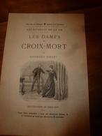 18??  Publicité Littéraire Pour Le Livre LES DAMES DE CROIX-MORT Par Georges Ohnet, Illustré Par Emile Mas - Publicité