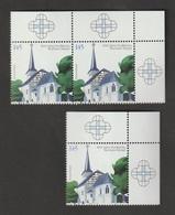 1000 Jahre Dorfkirche Von Bochum-Stiepel.  / MiNr.: 2646  / 3 Marken - BRD
