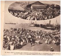 La Grande Guerre  14-18 Le Recrutement Des Troupes Noires à Dakar Au Senegal - Vieux Papiers