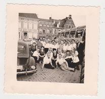 26494 Voyage Nederland Belgique - -vers 1960-70 - 4CV - Lieux