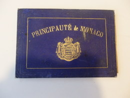 Bel Album De 12 Photos Anciennes Sur La Principauté De Monaco. - Photographs