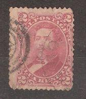 HAWAII , 1882 , Roi Kalakaua , Yvert N° 30 A , 2 C LILAS ROSE, Obl Cote 40 Euros - Hawaii