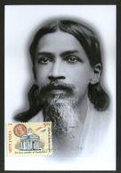 India 2010 Sri Aurobindo Arrival In Pondicherry Religion Max Card # 12767 Inde Indien - Religions