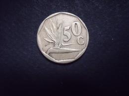 AFRIQUE DU SUD  = 1 MONNAIE DE 50 C DE 1994 - Afrique Du Sud