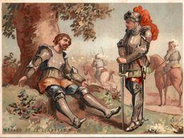 CHROMO VIE DE SAINTS BAYARD & LE CONNETABLE DE BOURBON 30 AVRIL 1524 - Chromo