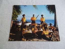 PHOTO CARTE PHONOSCOPE STEEL BAND ST JAMES BARBADOS - Photos