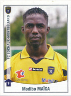 Panini, Foot 2011, N° 465, MODIBO MAIGA, FC Sochaux-Montbéliard - Panini