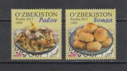 Uz 1208-09 Uzbekistan Usbekistan 2018 Uzbek Cuisine - Usbekistan