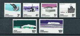 1972 Ross Dependency Complete Set Antarctica MNH/Postfris/Neuf Sans Charniere - Ross Dependency (Nieuw-Zeeland)