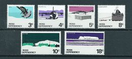 1972 Ross Dependency Complete Set Antarctica MNH/Postfris/Neuf Sans Charniere - Ongebruikt