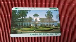 Phonecard Indonesia Tamura Perumtel   (Mint,Neuve) Very Rare - Indonesien