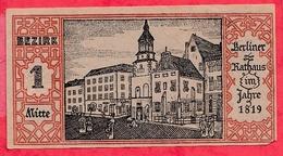 Allemagne 1 Notgeld 50 Pfenning Stadt Berlin état Lot N °542 - [ 3] 1918-1933 : Weimar Republic