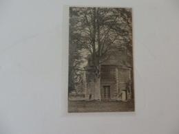 Carte Et Publicité Au Dos De L'hôtel Du Cheval Noir L. Dépinay à Clères (76). - Clères