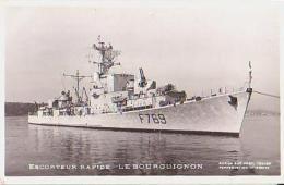 Escorteur        98        Escorteur Rapide LE BOURGUIGNON - Warships
