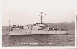 Escorteur        124        Escorteur Côtier L'ETOURDI - Guerre