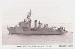 Escorteur        207        Escorteur D'escadre  MAILLE BREZE - Warships