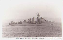 Escorteur        211        Escorteur D'escadre  GUEPRATTE - Warships