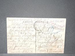 FRANCE - Carte Postale En FM Pour Un Prisonnier De Guerre En Bavière En 1917 - L 15746 - WW I