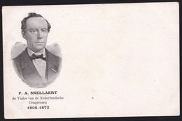 F. SNELLAERT * SCHRIJVER - ECRIVAIN ( 1806-1872) KORTRIJK - VLAAMSE BEWEGING - Zeldzaam - Ecrivains