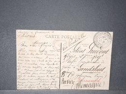 FRANCE - Carte Postale En FM Pour Un Prisonnier De Guerre En Bavière En 1918 - L 15748 - WW I
