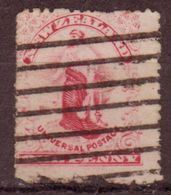 Nouvelles Zelande - 1900 - YT N° 98 - Oblitéré - - 1855-1907 Crown Colony