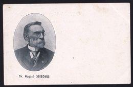 AUGUST SNIEDERS * SCHRIJVER - ECRIVAIN ( 1825-1904) BLADEL - BORGERHOUT - VLAAMSE ZAAK - Zeldzaam - Ecrivains