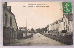 LOUDEAC . Boulevard De La Gare . - Loudéac