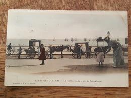 Les Sables D'Olonne - Le Remblai, Vue De La Mer Du Point Central - Attelages - Collection GID - Sables D'Olonne
