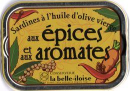 Puxisardinophilie - Boite à Sardines (vide) Aux épices Et Aux Aromates  - La Belle-iloise - Other Collections
