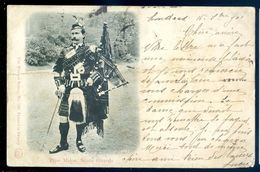 Cpa Ecosse Pipe Major , Scots Guards MARS18-14 - Ecosse