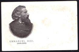 EMMANUEL HIEL * SCHRIJVER - ECRIVAIN ( 1793-1846) SCHAARBEEK - DENDERMONDE - VLAAMSE TAAL - Zeldzaam - Ecrivains