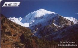 TARJETA TELEFONICA DE ANDORRA. (029) - Andorra