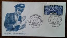 YT N°1537 - Exposition Philatélique POSTIERS PHILATELISTES - PARIS - 1969 - Lettres & Documents