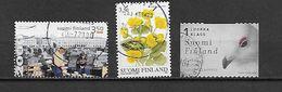 FINLANDE 1468/1490/1501 Oblitérés Rond - Finlande
