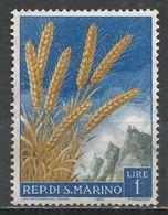 San Marino 1958. Scott #416 (M) Wheat * - Saint-Marin