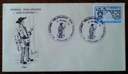 YT N°1927 - POSTIERS PHILATELISTES MIDI PYRENEES - TOULOUSE - 1977 - France