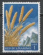 San Marino 1958. Scott #416 (MNH) Wheat * - Saint-Marin