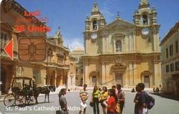 TARJETA TELEFONICA DE MALTA. (047) - Malta