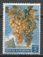 San Marino 1958. Scott #418 (M) Grapes * - Saint-Marin