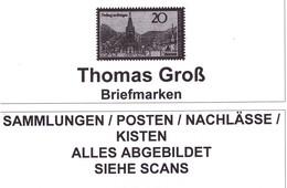Bund, Jahrgang 1991+1992+1993+1994+1995+1996+1997+1998+1999, Gestempelt (1371) - Timbres